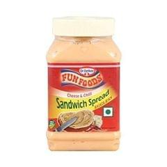 DR.OETKER FUNFOODS - CHEESE & CHILLI SANDWICH SPREAD - 275 Gms