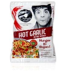 CHING'S - HOT GARLIC NOODLES - 60 Gms