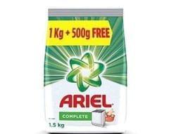 ARIEL  COMPLETE  DETERGENT POWDER - 1.5 Kg