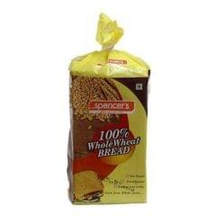 SPENCER'S - WHOLE WHEAT BREAD - 400 Gms