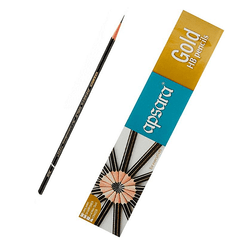 APSARA - GOLD HB PENCILS - 10 PIECE