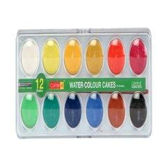 CAMEL - WATER COLOUR CAKES - 12 SHADE