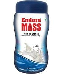 ENDURA MASS - WEIGHT GAINER - VANILLA FLAVOR - 500 Gms