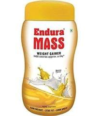 ENDURA MASS - WEIGHT GAINER - BANANA FLAVOR - 500 Gms