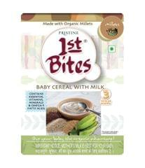 PRISTINE - 1st BITES - BABY CEREAL WITH MILK - MILLETS - 300 Gms