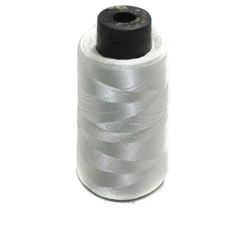3 Ply Satin Thread Large Spool White 1 Pcs