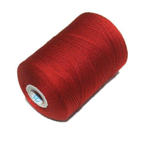 5000 Mtr Satin Cotton Thread 0.40mm Maroon