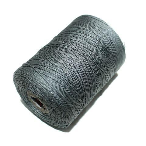 5000 Mtr Satin Cotton Thread 0.40mm Grey