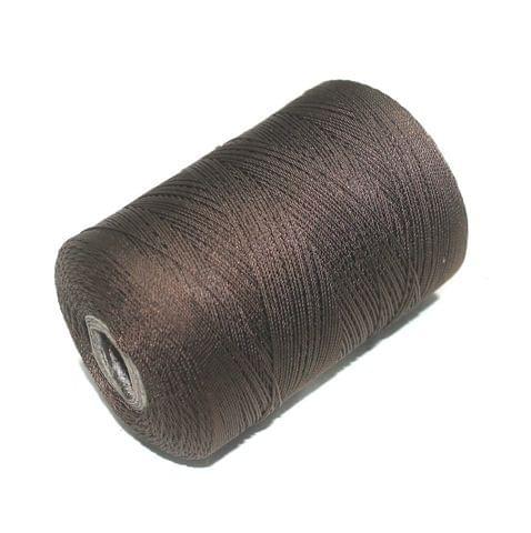 5000 Mtr Satin Cotton Thread 0.40mm Dark Cherry