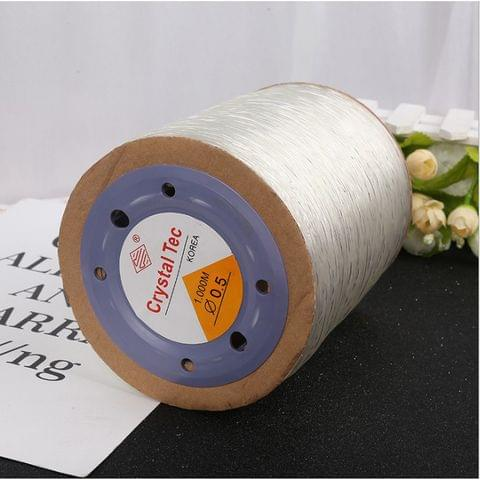 1000 Mtrs Elastic Beading Cord 0.5 mm
