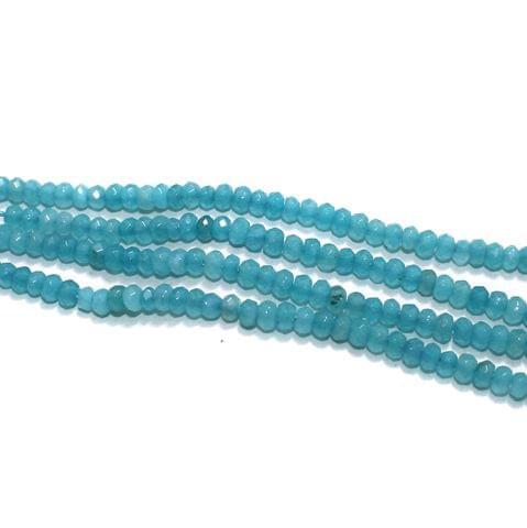 4mm Turquoise Gemstone Beads 2 Strings