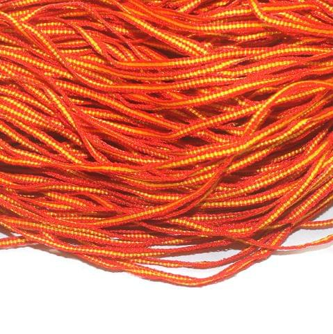 Oranfe Flat Satin Thread 4mm, For Jewellery Making, Craft