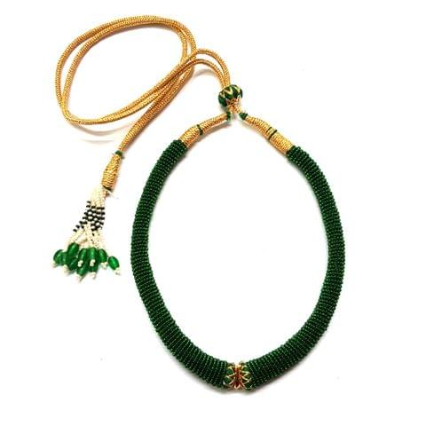 2 Pcs, Green Hasli Sarafa Dori, 5 inch
