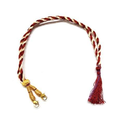 4 Pcs, Red White Lock Back Dori, 12 inch