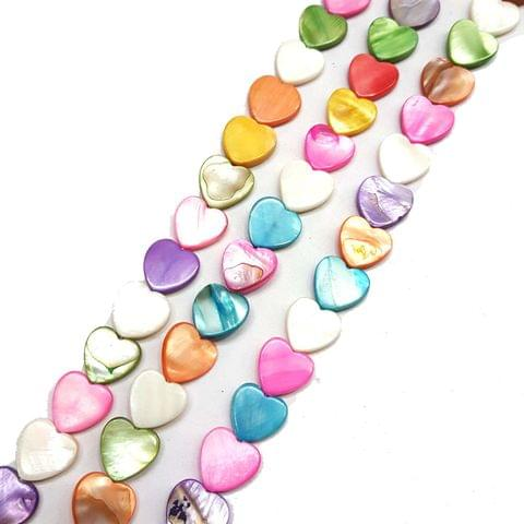 14mm, 2 strands, Mother Of Pearls Shell, 16 inches, 26+ Beads In Each Strand