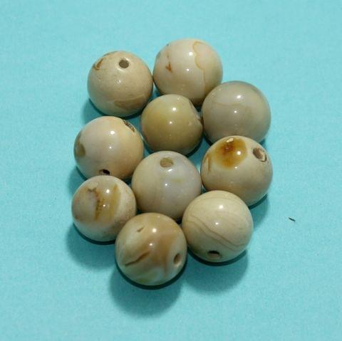 51Pcs Ceramic Beads Assorted 13x14 mm
