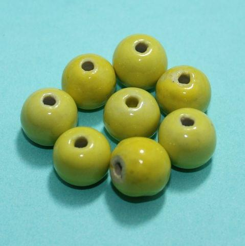 50 Pcs Ceramic Beads Assorted 19-11 mm