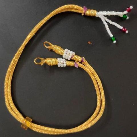 1 Dozen Zari Necklace Dori Golden