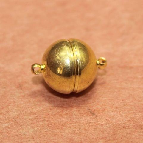 5 Pcs Magnetic Clasps Golden, Size 19x14mm