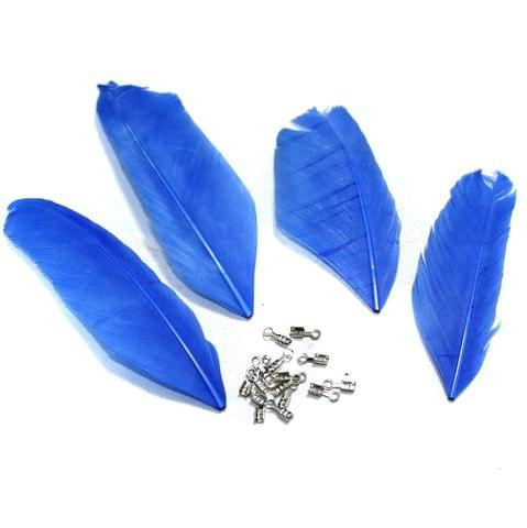80+ Premium Jewellery Making Feathers Blue