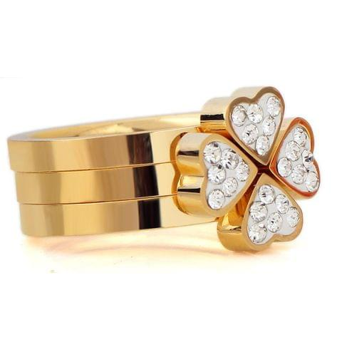 Flower Ring Golden
