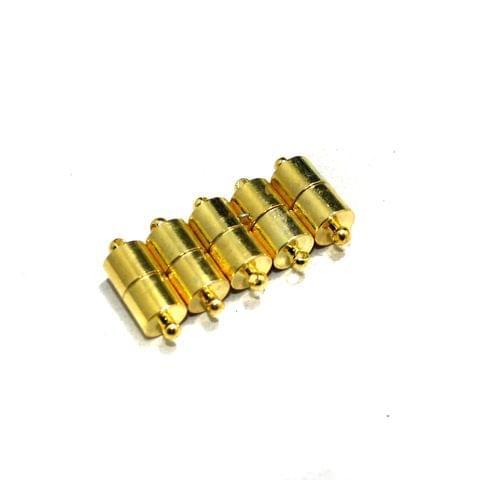 5 Pcs Magnetic Clasps Golden, Size 18x7mm