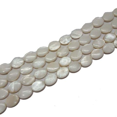 11x12mm, 2 strands, Mother Of Pearls Shell, 14 inches