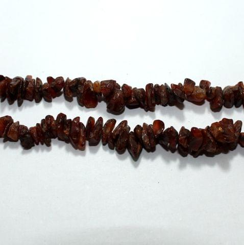 Brown Stone Chips 2 Strings, 5-8mm, Approx 320+ Pcs