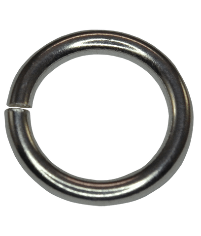 92.5 Sterling Silver 10mm Open Jump Ring