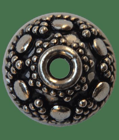92.5 Sterling Silver Fine Rava Cap