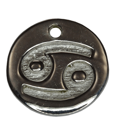 92.5 Sterling Silver CANCER Charm