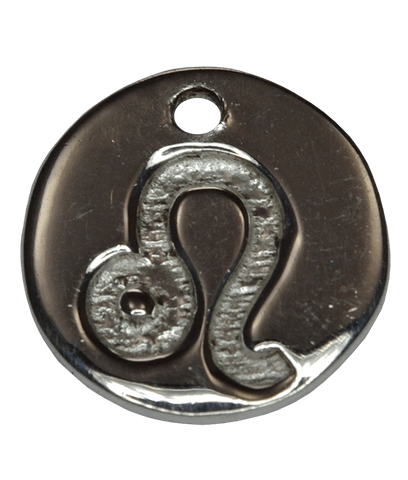 92.5 Sterling Silver LEO Charm