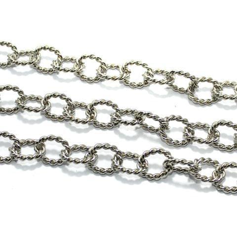 Metal Chain Silver 2 Mtr