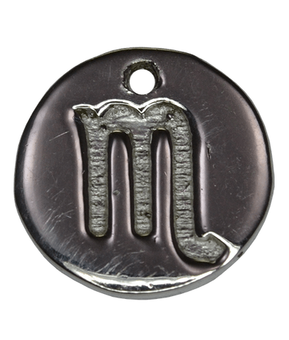 92.5 Sterling Silver SCORPIO Charm