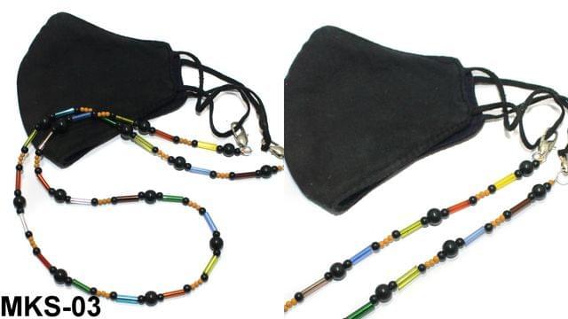 Beaded Designer Mask Chain Dori