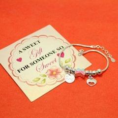 Butterfly Charms Sterling Silver Bracelets