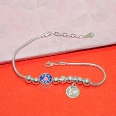 Star Love Charms Sterling Silver Bracelet
