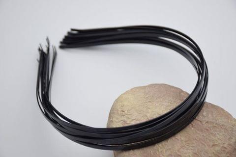 10 Pcs Hairband Bases Black 15 Inch