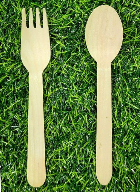 Combo Offer Disposable Wooden Spoons Art & Craft Size 6.25 Inch x 1.25 Inch