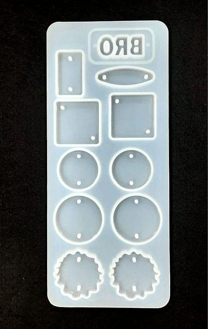 Rakhi Mold Silicon Raisin Casting Mold 23cm x 10cm