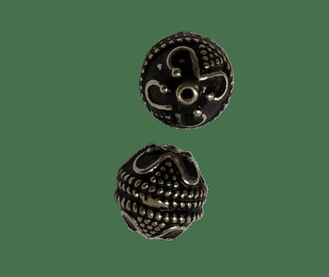 Sterling Silver 9mm Fine Bead