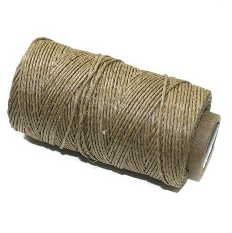 100 Mtrs Hemp Cord Natural 0.5mm
