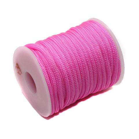 10 Mtrs Bracelet Paracord Rope Pink 3mm