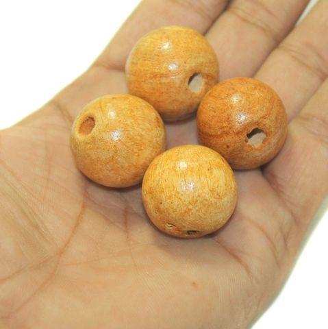 Wooden Beads Round 25mm