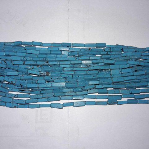 Semiprecious Turquoise Chaupasa. 10 String