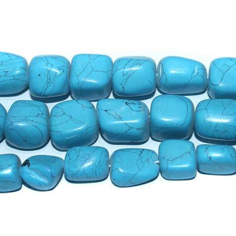 Semiprecious Turquoise Tumble Beads
