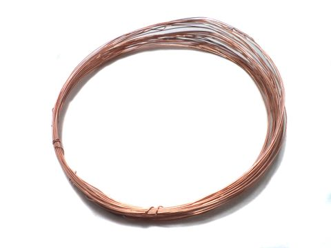 28 Gauge Jewellery Making Copper Plated Brass Craft Wire 20 Mtr