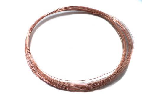 30 Gauge Jewellery Making Copper Plated Brass Craft Wire 20 Mtr