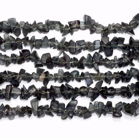 220+ Glass Uncut Beads Smokey 5-8