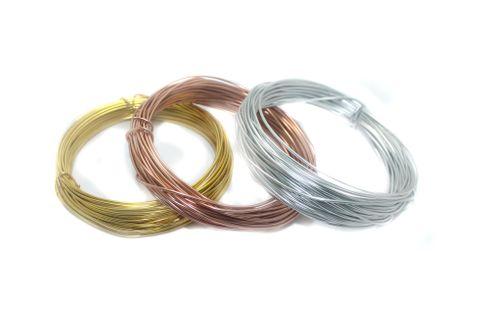 Aluminium Craft Wire 3 Pcs Combo 1mm 10Mtr Each